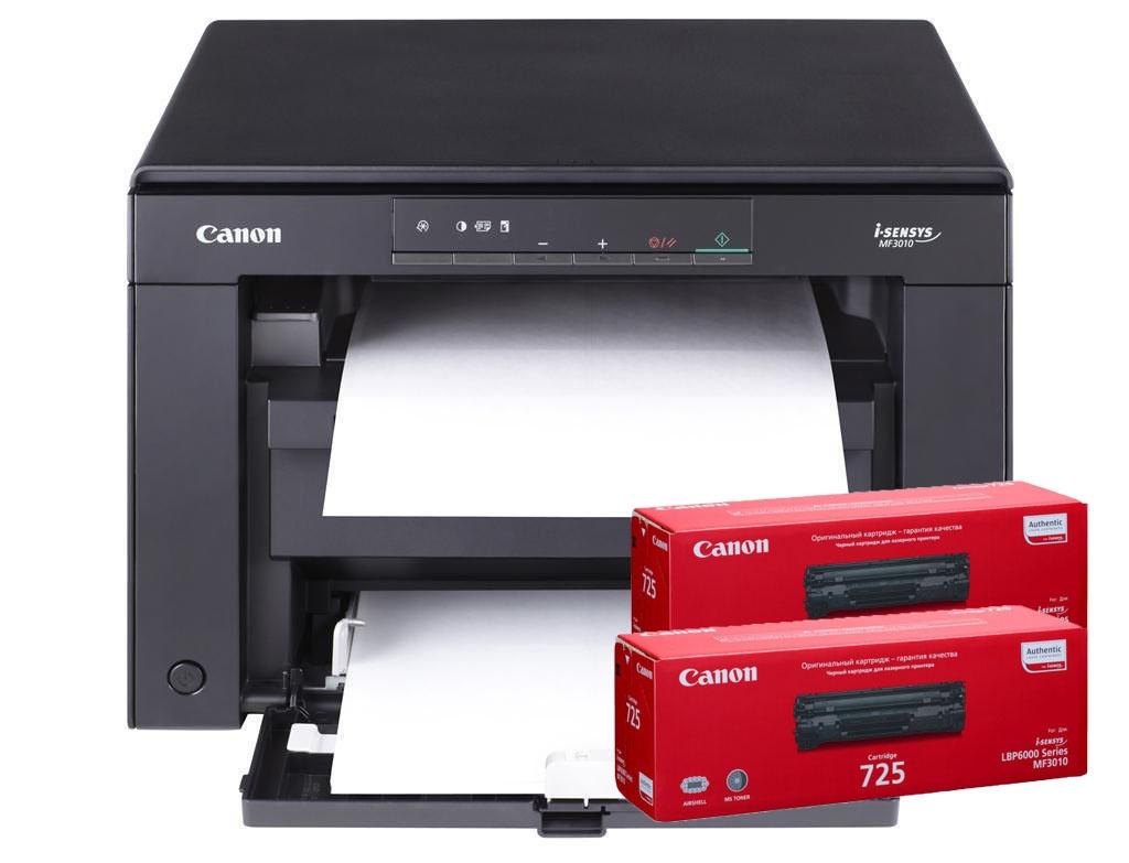 МФУ CANON  i-SENSYS MF 3010 + 2 картриджа