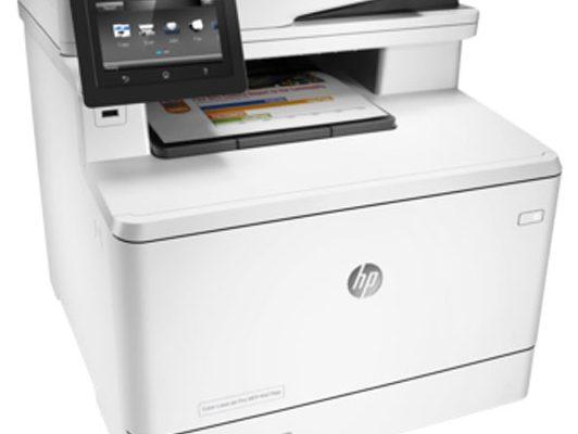 цветное МФУ HP LaserJet Pro M477fdw(CF379A)