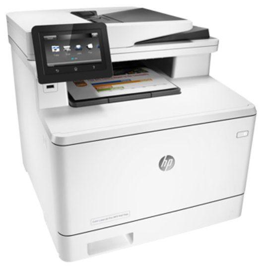 Цветное МФУ HP LaserJet Pro M477fdn(CF378A)