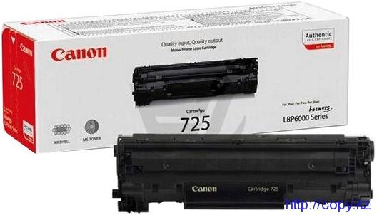Картридж Canon 725 (LBP6030/6000B) Original
