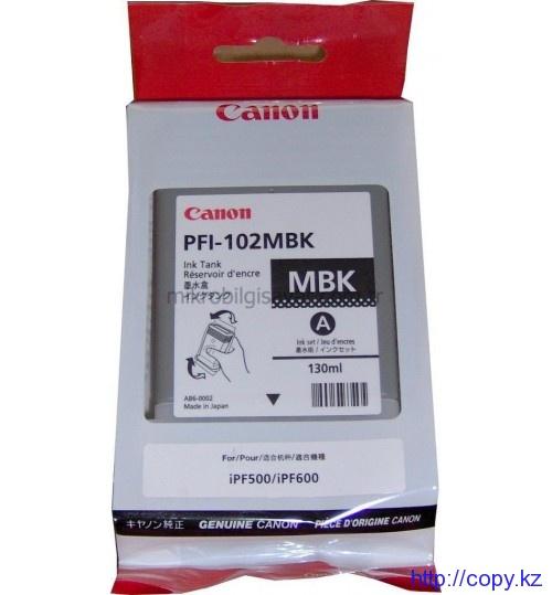 Картридж Canon PFI-102BK