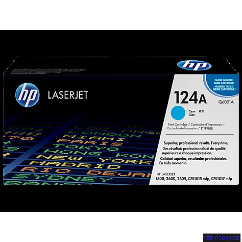 Картридж HP 124A (Q6001A)