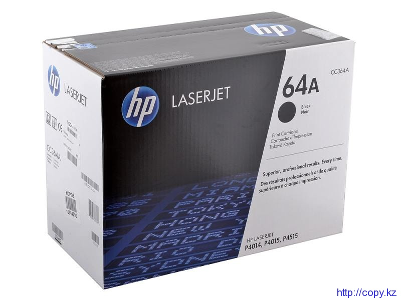 картридж HP 4014 / 4015 / 4515 HP CC364A Black Toner