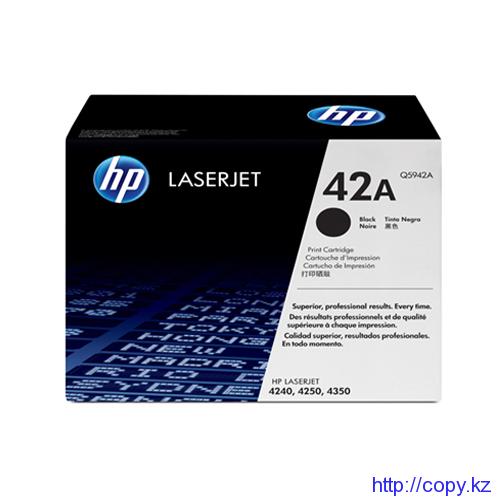 картридж HP 4250 (Q 5942 A)  оригинал