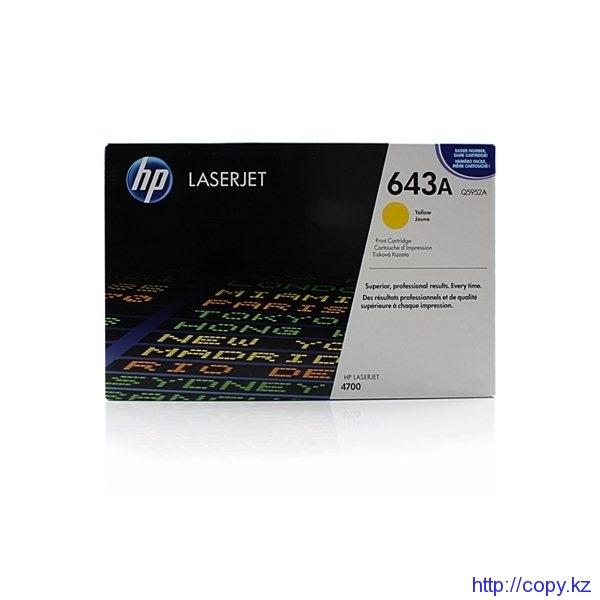 картридж HP 4700 Y (Q5952А) ориг