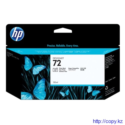 картридж HP C9370A Photo Black Ink Cartridge  №72 130 ml  T1100/Т1100ps/Т610