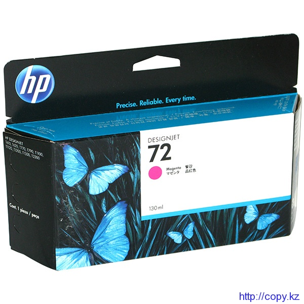 картридж HP C9372A Magenta Ink  №72 130ml T1100/Т1100ps/Т610