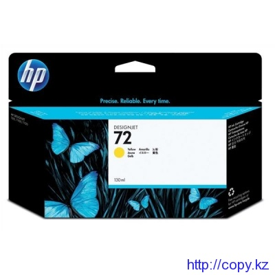 картридж HP C9373A Yellow Ink  №72  130m T1100/Т1100ps/Т610
