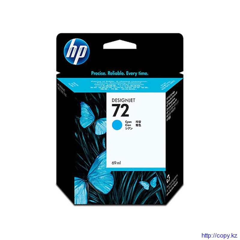 картридж HP C9398A Cyan Ink Cartridge №72 69ml  for  T1100/Т110