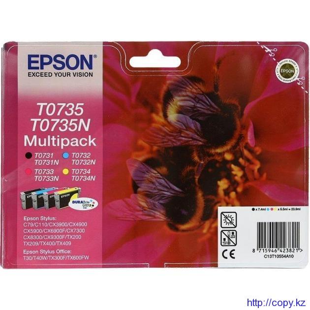 Комплект картриджей Epson T0735 (C13T07354A/ C13T10554A10)