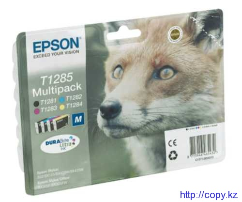 Комплект картриджей Epson T1285 (C13T12854010/ C13T12854011/ C13T12854012)