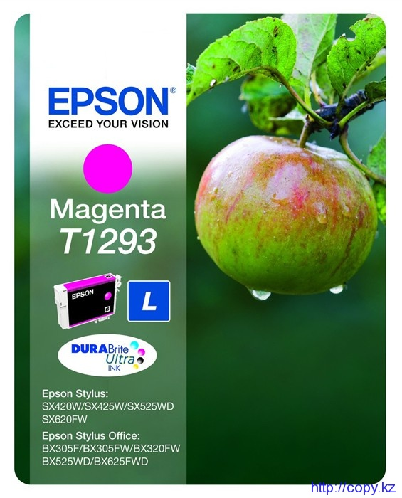 Картридж Epson T1293 (C13T12934010/ C13T12934011/ C13T12934012)