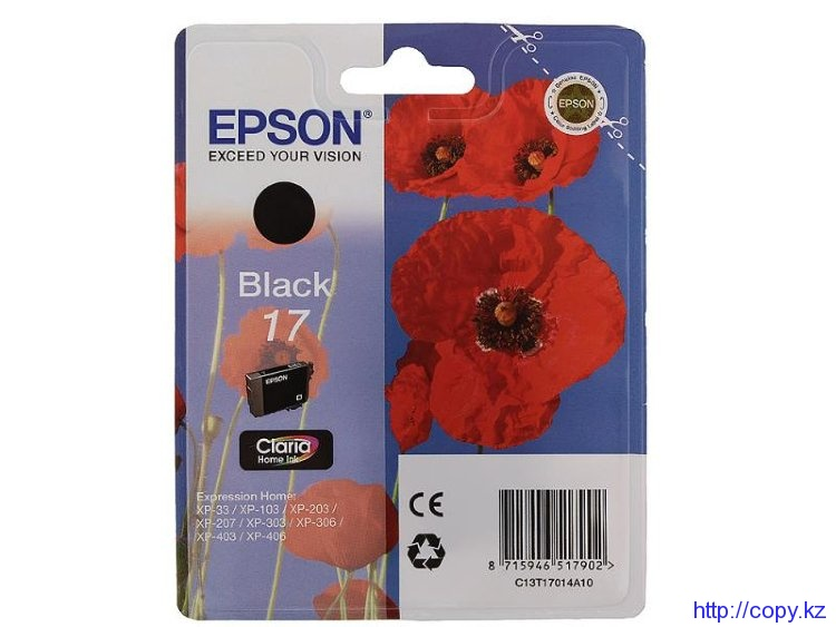 Картридж Epson 17 (C13T17014A10)
