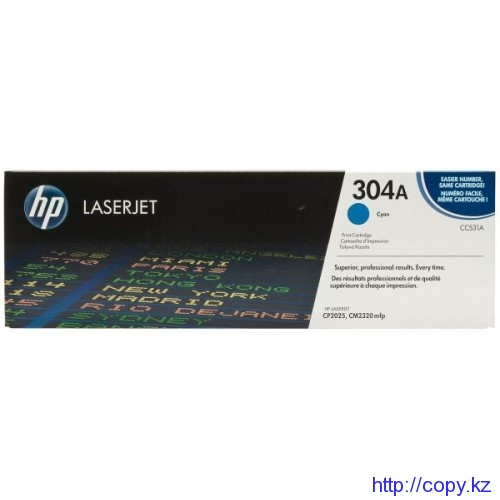 Картридж HP 304A (CC531A)