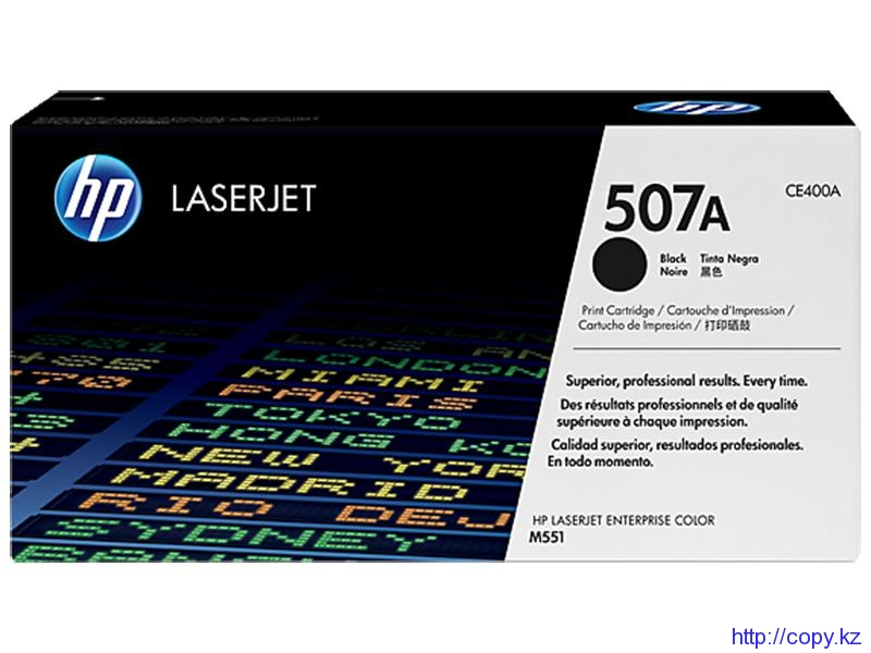HP CE400A 507A Black  Cartridge