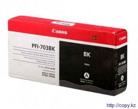 Картридж Canon PFI-703Bk