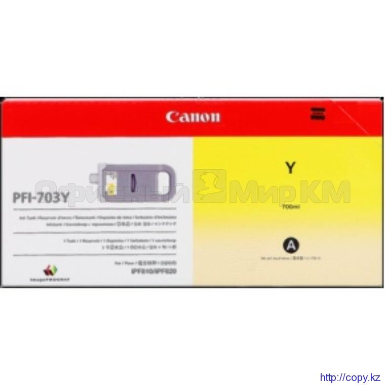 Картридж Canon PFI-703Y