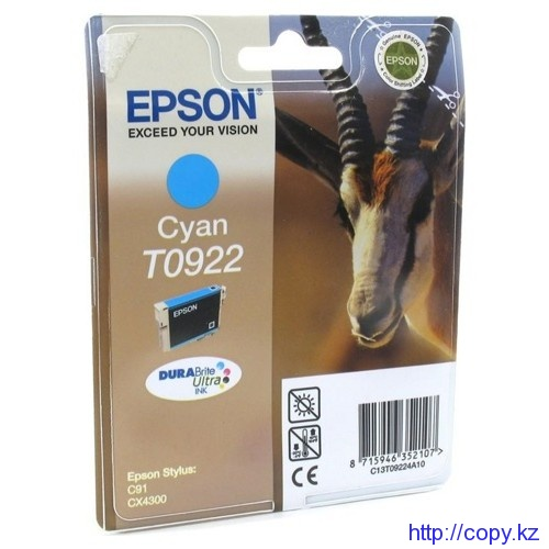 Картридж Epson T0922 (C13T09224A10/ C13T10824A10)