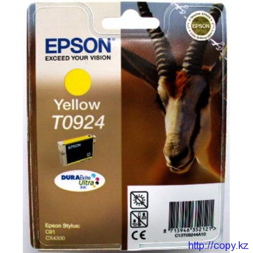 Картридж Epson T0924 (C13Т09244А10/ C13T10844A10)