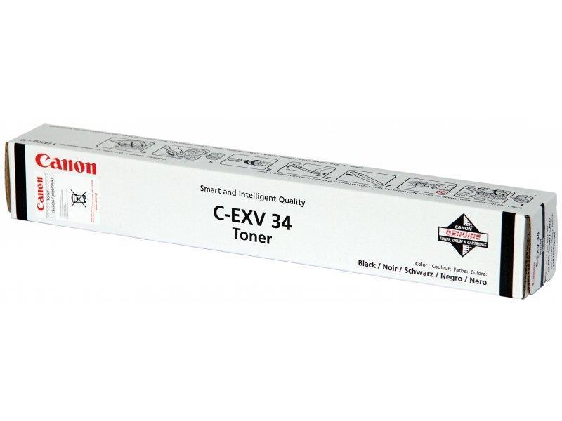 тонер CANON iR-ADV C2020/C2030 (C-EXV34) BK. ориг.