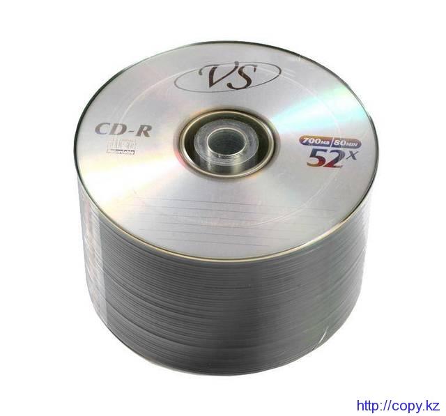 Диск CD-R  700 МВ  52Х