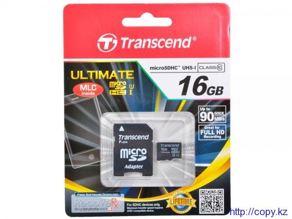 TS16GUSDHC10,microSD 16GBclass10 U1
