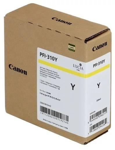 Картридж Canon PFI-310Y