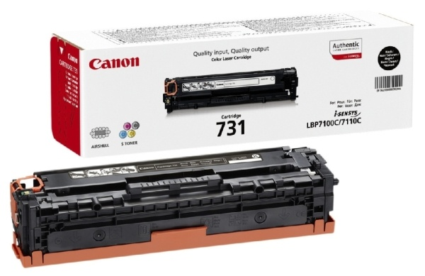 Картридж Canon 731Bk