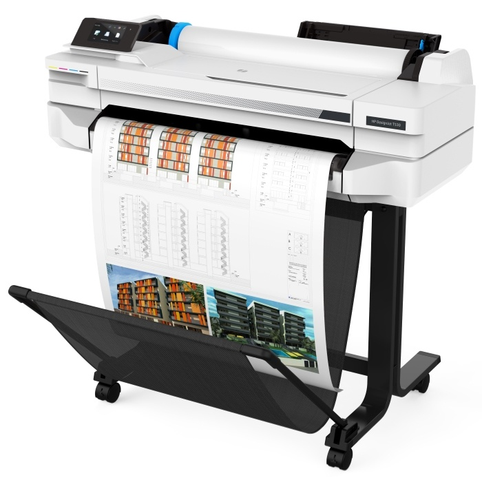 5ZY60A HP DesignJet T530 24-in Printer
