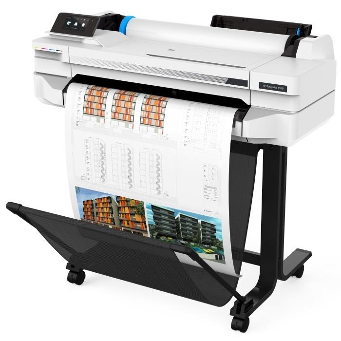 5ZY60A HP DesignJet T530 24-in Printer