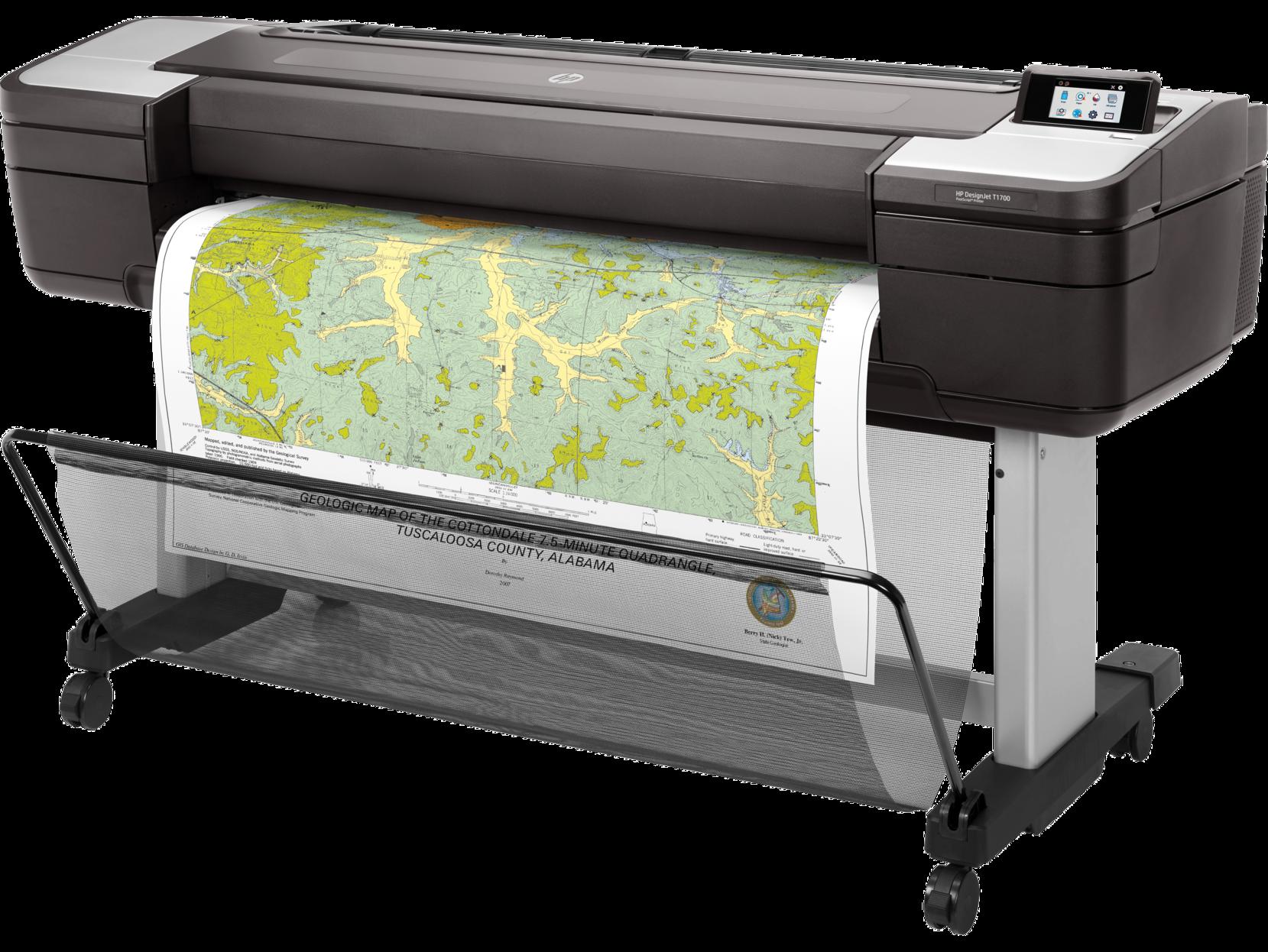 Принтер HP DesignJet T1700 (44″) (W6B55A)